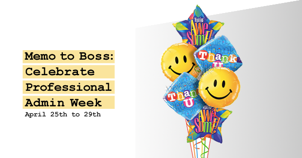 Admin Professionals Week