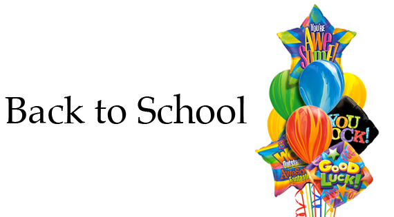 Back to School 2017 Balloon Bouquet Delivery
