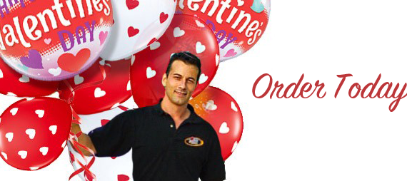 Save $12 on a Valentines Day Balloon Delivery