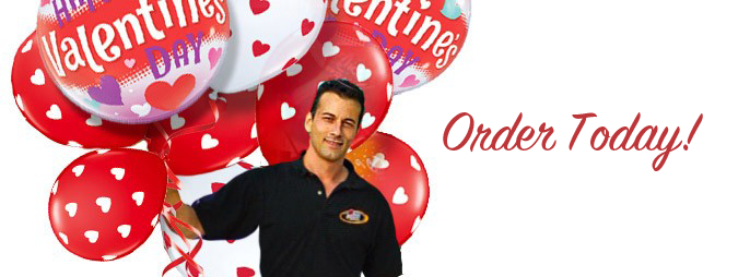 Valentine's Day Balloon Delivery